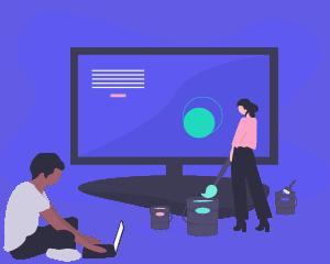 Web Sapphire Web Design and Development illustration.